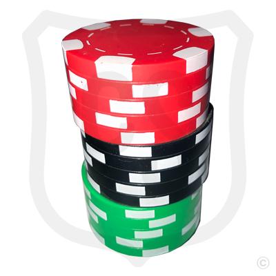 Poker Chips Bottle Opener - Red Top