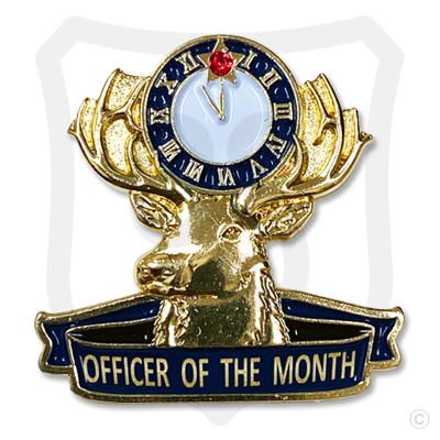 Elks Officer of the Month