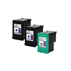 More buying choices for Remanufactured Ink Cartridge Replacement for HP 74 CB335WN HP 75 CB337WN (2 Black 1 Color)