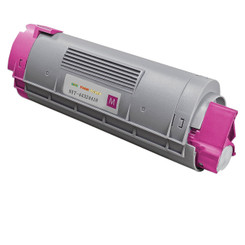 1 Pack Compatible Magenta Okidata Toner Cartridge 43324418 (5,000 Page Yield) for Okidata C5550 MFP, Okidata M