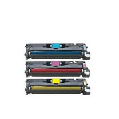 More buying choices for HP C9701A C9702A C9703A Compatible Cyan Magenta Yellow Toner Cartridge - 3 Pack