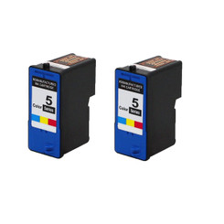 2 Pack Compatible Color Combo Dell Series 5 High-Capacity Ink Cartridge (M4646)