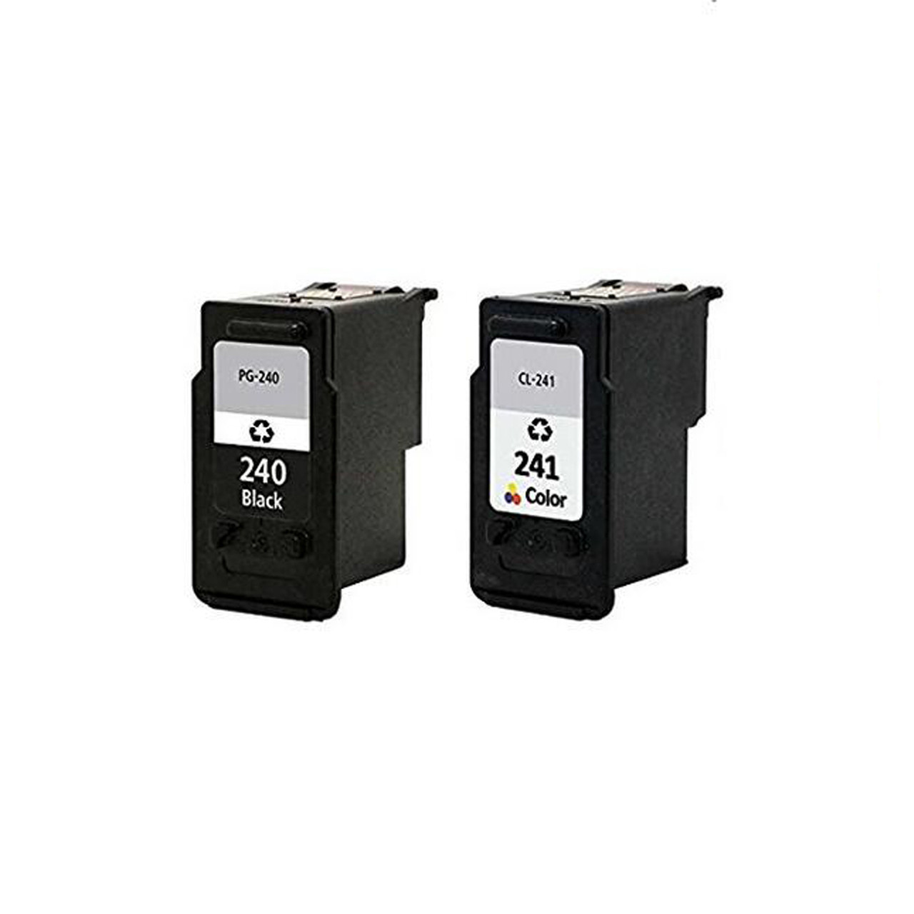 2PK Canon PG-240XL CL-241XL Black and Color Ink For Canon PIXMA MX532 MG2120