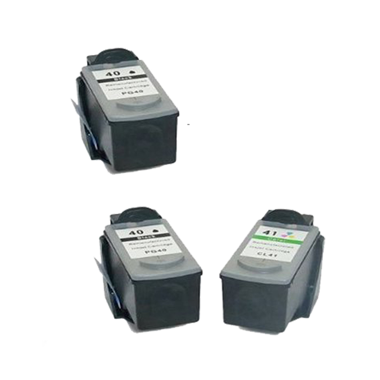 4PK PG-40 PG40 PG 40 Ink For Canon MP170 MP180 MP460
