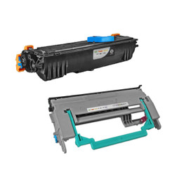 Compatible 1710567002 Toner and 1710568001 Drum ( QMS 1300 ) for Konica/Minolta Laser Pagepro 1300/1350W - 2PK