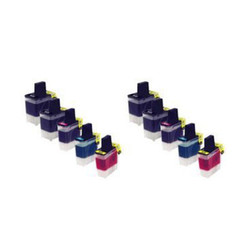 10 PK Brother Compatible Inkjet LC41BK, LC41C, LC41M, and LC41Y DCP-315CN