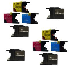 10 LC79 Black&Color ink cartridges MFC-J6510DW