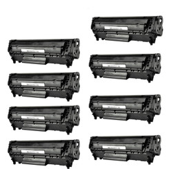 8 Pack Canon 104/FX9 Compatible Toner Cartridge for use in Canon imageCLASS D420 D480 MF4150 MF4270 MF4350D MF4370DN MF4690 & FAXPHONE L90 L120 - Selectec