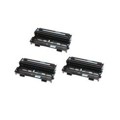 (3 Pack) Brother Compatible DR-510 DR510 Laser Toner Drum, 20,000 Pages, Black