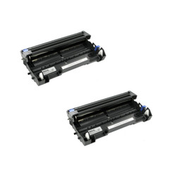 (2 Pack) Compatible Laser Printer Drum Cartridge for Brother HL-5250DN DR520, 25000 Page Yield