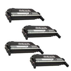 4 Pack Compatible - Canon CRG-117 Black Toner Cartridge - 6,000 Pages (Canon 117 BK)
