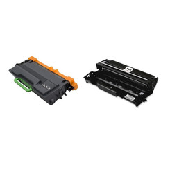 6750 6900 Printers MFC-L5700 5200 5850 6800 6250 6700 1 DR820 Drum Unit 5800 5900 6200 6400 5100 Supply Spot offers2 Pack Compatible TN850 Black Toner for Brother HL-L5000 6300