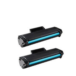 2-Pack Dell 1160 Black Compatible Toner Cartridge 331-7335 (HF442) For Dell B1160 & B1160w Laser Printer By Tonerdeal