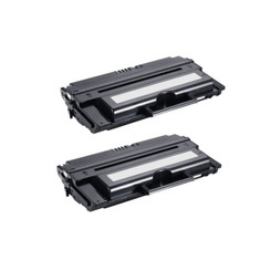 2-Pack Dell 1815DN (310-7945) Compatible Toner Cartridge for use with Dell 1815DN Printer - Black