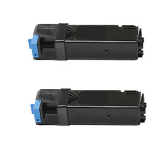 2 Pack: Dell 1320 BK Compatible Toner Cartridges