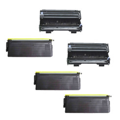 (3) Remanufactured Tn570 (Tn540) Toner + (1) Remanufactured Dr510 Drum Combo Set FOR Brother HL-5100, HL-5140, HL-5150D, HL-5150DLT, HL-5170DN, HL-5170DNT, MFC-8220, MFC-8440, MFC-8840D, MFC-8840DN, DCP-8045D, DCP-8040