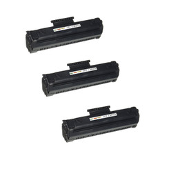 """(3 Pack) HP Compatible C4092A HP 92A Laser Toner Cartridge, 2,500 Pages, Black"""
