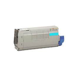 1 Pack Compatible Okidata 43324468 [Cyan] Toner Cartridge