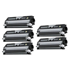 5 Pack Compatible Konica Minolta A0V301F Black Toner Cartridge for MagiColor 1600W 1680MF