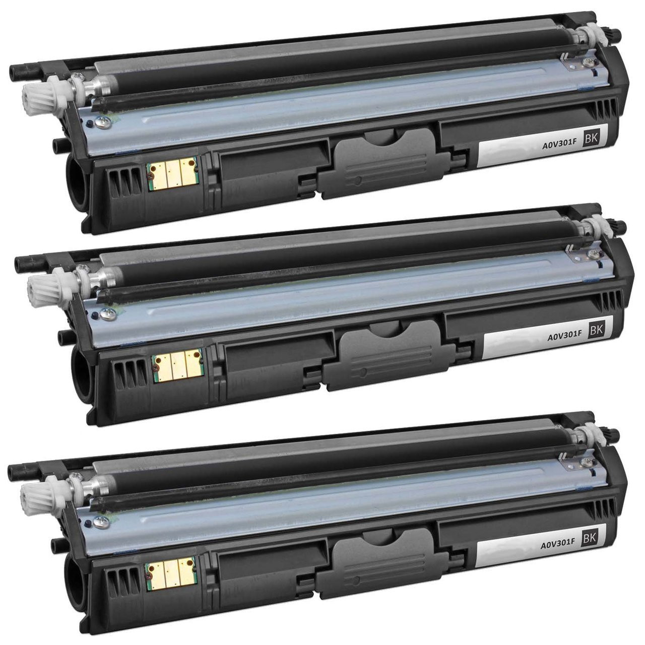 Yellow,1-Pack AB Volts Compatible Toner Cartridge Replacement for Konica-Minolta A0V306F for Magicolor 1600 1600W 1650EN 1680MF 1690MF 1690MFDD 1690MFT 1690MFDT