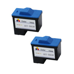 2 Pack Compatible T0530 Color Ink Cartridge For Dell Printer A920 & Dell Printer 720