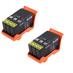2 Pack Compatible High Yield Dell Series 24 T110N Color Printer Ink Cartridge for Dell All-In-One Printers P713w V715w