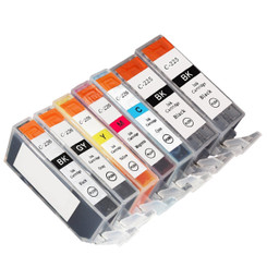 7 Pack US Patent Canon PGI-225BK x2 & CLI-226 1Set compatible ink cartridges for Canon PIXMA MG8120, MG6120