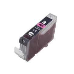 1 Chipped Photo Mgaenta Compatible High-Capacity CLI-8PM Ink Cartridges for Canon Pixma MX700 Printer