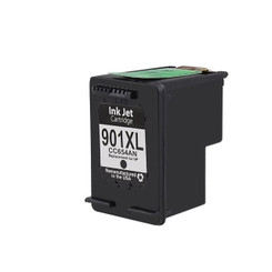 1 pack Remanufactured Black Ink Cartridge Replacement for HP 901XL (CC654AN)