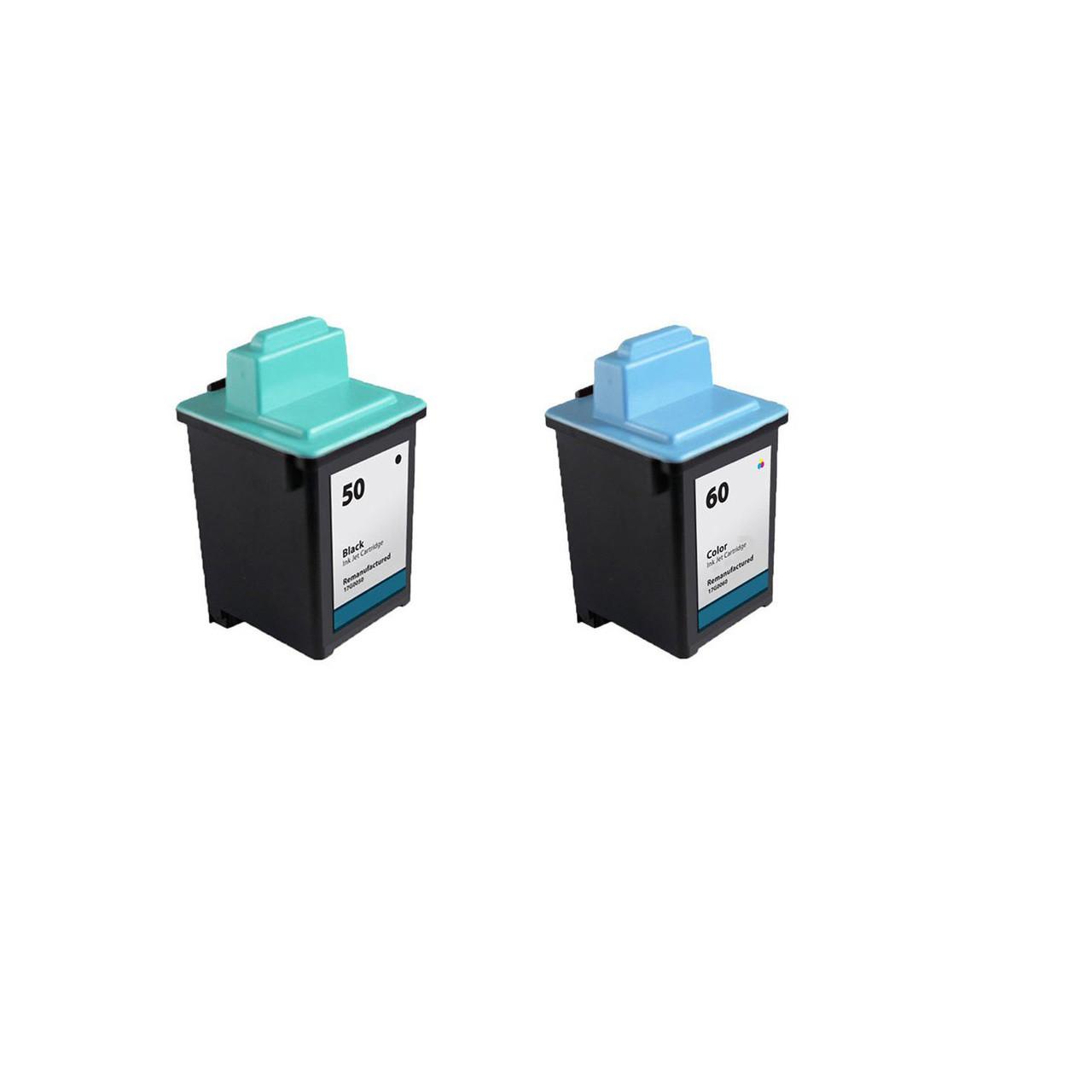 Z32; Black Ink Myriad Compatible Inkjet Cartridges Bulk: R17G0050 Z22 50; Models: Z12 Replacement for Lexmark 17G0050 5 Inkjet Cartridges