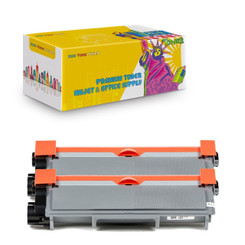 2 Pack New York Toner Compatible Replacement Toner Cartridge for Brother TN660 TN630 Black
