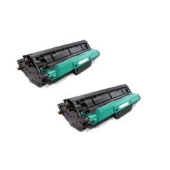 2/Pack CE314A Black Drum Cartridge for HP Compatible with: Color LaserJet Pro 100 M175a MFP M175nw Pro 200 M275MFP CP1025nw
