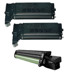 3-Pack Compatible Samsung SCX-6320D8 Toner x2 and SCX-6320 D Drum Cartridge for Samsung SCX-6220, Samsung SCX-6320F