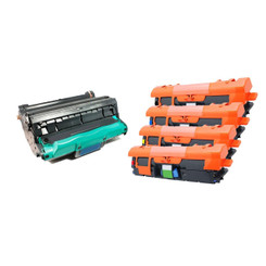 V4INK Remanufactured Drum Cartridge Replacement for HP Q3960A Q3961A Q3962A Q3963A Q3964A ( 5-Pack )