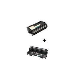 (2 Pack) Compatible with Brother, Set of TN-430 Toner Cartridge, DR-400 Drum Unit - 1 of each