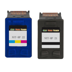 More buying choices for Remanufactured Ink Cartridge Replacement for HP 21 and HP 22 (1 Black 1 Color 2 Pack)