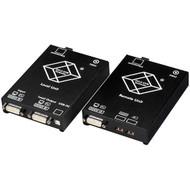 Black Box KVM Extender, DVI-D, USB, Dual Access, Single-Mode Fiber ACS4001A-R2-SM