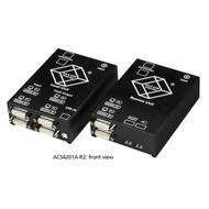 Black Box KVM Extender, Dual-D, USB HID, W/Local Pass Thru, CATx ACS4201A-R2