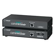 Black Box KVM Extender, (2)VGA, PS/2, Dual-Access, CATx ACU1009A
