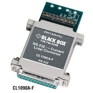 Black Box RS-232 to Current Loop Converters CL1090A-F
