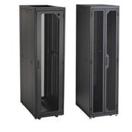 """Elite Data Cabinet, 84""""H (45U) x 30""""W x 36""""D, 10-32 Rails, PLEXIGLAS F EC45U3036TPMS3NK"""