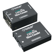 Black Box KVM Extender, Micro, VGA, PS/2, CATx, Dual-Access ACU3009A