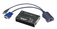 Black Box KVM Extender, VGA,USB Computer, PS/2 Console, CATx, Single Access ACU5002A