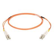 Black Box 1M Duplex Fiber Patch Cable Multimode 50 Mic OM2 OFNR LCLC OR EFN6020-001M