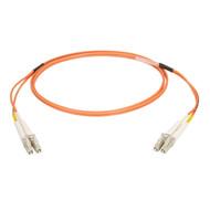 Black Box 2M Duplex Fiber Patch Cable Multimode 50 Mic OM2 OFNR LCLC OR EFN6020-002M