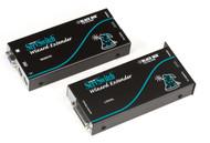 Black Box KVM Extender, VGA, PS/2, RS232, CATX w/Skew Compen,Single Access ACU5110A