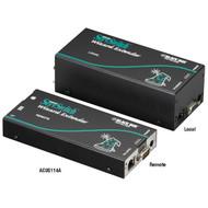 Black Box KVM Extender,Dual VGA,PS/2,RS232,w/Skew Comp,Dual Access ACU5114A
