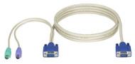 Black Box KVM CPU CABLE, VGA, PS/2, EC & DT-SERIES, 6FT EHN70001-0006