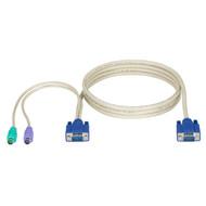 Black Box KVM CPU CABLE, VGA, PS/2, EC & DT-SERIES, 10FT EHN70001-0010