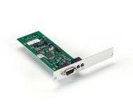 Black Box KVM Receiver, 2-Way Analog Audio, RS2322, Expansion Card, Mod Ext ACX1MR-AR